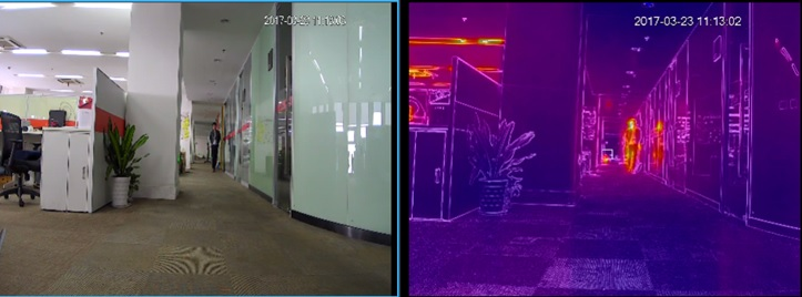 cctv systems with thermal imaging